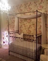 Bratt Decor Joy Crib by Joy Canopy Crib Vintage Gold