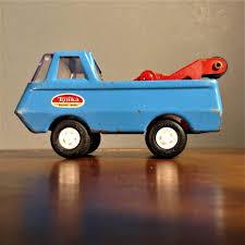 100 Vintage Tonka Truck Tiny Wrecker Pickup W Tow Etsy