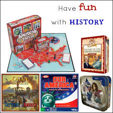 Board Games Are A Simple Way To Make American History Fun Interesting There Lots
