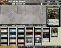 sealed deck builder 7 25 2013 magic the gathering