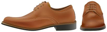 Brown Elegant Men Shoes PNG Clipart