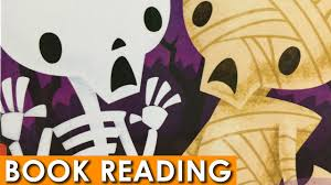 Halloween Books For Preschoolers Online by Skeleton Meets The Mummy Read Along Aloud Halloween Book Youtube