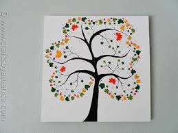 Shamrock Crafts Tree On Canvas By CraftsbyAmanda Amandaformaro