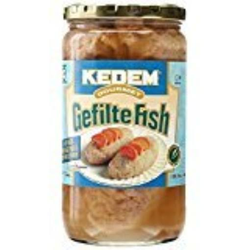 Gluten Free Kosher Gefilte Fish - 24 oz jar