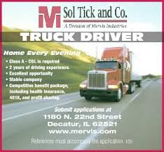 Flyerboard - Sol Tick Driver Job - Herald And Review Barrnunn Truck Driving Jobs Hshot Trucking How To Start Kenan Advantage Group Tank Truck Driver Pay Increase Bulk Heartland Express Choosing The Best Paying Trucking Company Work For Youtube B H 92 Inc Transportation Service Bolingbrook Entrylevel No Experience W N Morehouse Chicago Il Driver Career Fair And Academy Open House Cdllife Weekend Home Time Midwest Regional Job Center For Global Policy Solutions Stick Shift Autonomous Vehicles