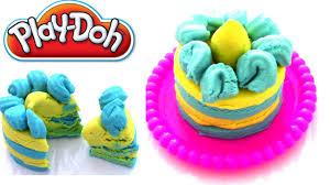 play doh knete i kuchen inspiriert die eiskönigin prinzessin elsa i kinder i