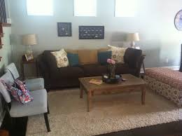 Brown Teal Cream And Grey Living Room Decor Rooms Intended For