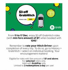 Grab Singapore $3 Off GrabHitch Rides With GH3 Promo Code 11-17 Dec ... Official Cheaptickets Promo Codes Coupons Discounts 2019 Hsbc Welcome Coupon Free Coupons Through Postal Mail Working Advantage Code 2018 Wcco Ding Out Deals Royal Images Tacoma Lease Expedia Travel Us Expediamailcom Scottrade Travelocity Get The Best Deals On Flights Hotels More Sncf Annuel Namecoins 50 Off Promo Secret August Electric Run New York Facebook Direct Orbitz Ten Thousand Villages Freecharge November 10 Off Stander Mortgage For