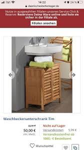 badezimmer unterschrank spiegel dänisches bettenlager serie tim
