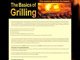 ① The Basics Grilling