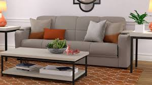 tyler microfiber storage arm convert a couch sofa sleeper bed