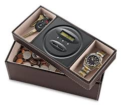 mens leather dresser valet dresser valet with digital coin counter so that s cool