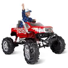 The Children's Ride On Monster Truck - Hammacher Schlemmer