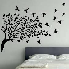 Wall Art Simple Decorating Birds Wood Bird Regarding Newest Metal