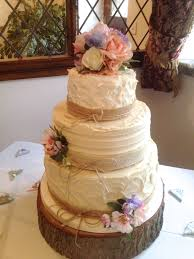 Fake Rustic Wedding Cake Best Of Artificial Flowers Laurel Weddings