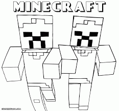 Minecraft Color Pages Coloring To Download And Print Gallery Ideas