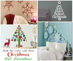 Tree Wall Decor Ideas by Christmas Wall Decorations Ideas To Deck Your Walls U2013 Christmas