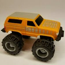 100 Ford Monster Truck BIGFOOT Orange Bronco Vintage McDonalds Plastic Toy