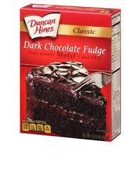 Classic Dark Chocolate Fudge Cake Mix
