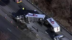 Deadly Tractor-trailer Crash Shuts Down I-78 In Berks County | 6abc.com Fedex Truck Accident Yesterday Pnicecom Woman Killed In Fort Worth Tx While Involved Wreck What To Do If Youve Been Hit By A Fedex Bgener Mirejovsky Driver Killed After Plunges Off Bridge Nbc 5 Dallas Nys Thruway Traffic Alert Eastbound Near Utica Slowed Due Several Injured Crash Volving Truck Gallery Of Pictures Delivery Strikes Southside Home Hror As Train Cuts Fed Ex Half After Smashing Into It Driver Deemed Responsible For A That 10 Tractor Trailer Plunges Off Highway Bridge Arkansas Wgntv 1 Car And Crash Otay Mesa Times San