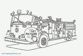 Coloring Pages Of Trucks Best Of Incridible Fire Truck Coloring ...