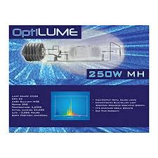 sunleaves optilume mh 250 watt grow light bulb from floor seats