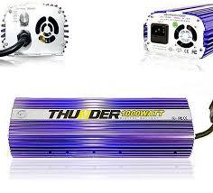 1000 Watt Hps Bulb And Ballast by Thunder Tm Glk1000bw 1000 Watt Light Digital Dimmable Hps Mh