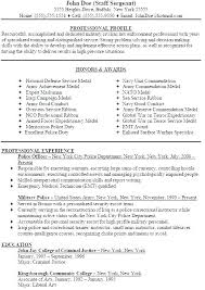 Best Resume Format For Military To Civilian Veteran Examples Help Veterans