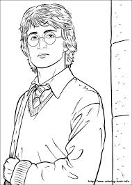 Nice Inspiration Ideas Harry Potter Coloring Pages