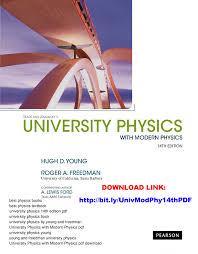 University Physics With Modern 14th Edition PDF