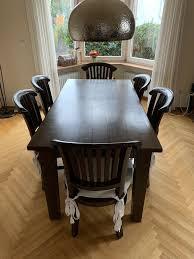 esstisch und 6 stühle kolonialstil