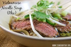 pho cuisine noodle soup pho recipe i can cook that i can cook that
