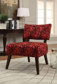Able Red Accent Chair