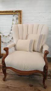 Deconstructed Drop Cloth Chair With French Ticking Striped ... Baxton Studio Patterson Wingback Beige Linen And Burlap Nailhead Tufted Accent Chair Sure Fit Striped Slipcover Products Custom Slipcovers By Shelley Gray Waterfall Skirt Couch Wingbackchaenviroment2 Decoration Inc Pin Gail On Stuff To Make For Chairs Upholstery Leather 53 Market Rustic Denim Farmhouse Chic Outdoor Youll Love In 2019 Wayfair Subrtex 2piece Elegant Jacquard Wing Back Cover Covers Chocolate 34 Examples Of Lavish Photographs Loose For Ding Making Room Loccie Better Homes