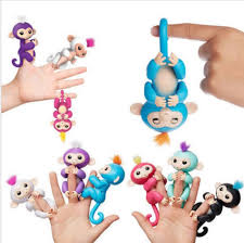 2017 Toy Fingerlings Baby Monkey Gigi The Unicorn Fingerling New Best Seller Finger Money Item NO 419650