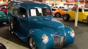 1940 Ford Hot Rod Surf Wagon Panel Truck - YouTube