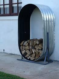 octagon outdoor firewood storagefirewood storage indoor holder