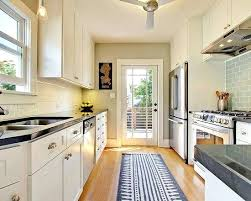 Alley Kitchen Best Long Narrow Ideas On With Island Small And