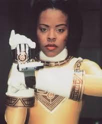 Tanya Sloan Yellow Zeo Ranger Nakia Burrise Power Rangers