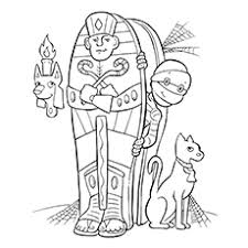 Fantastical Egyptian Mummy Coloring Pages Top 10 Ancient Egypt For Toddlers
