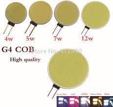 1pcs g4 12v 1w 3w 4w 5w 6w led bulb smd 5050 led l for