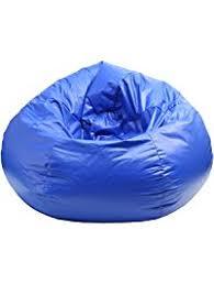 Gold Medal Bean Bags 30010509804 Medium Wet Look Vinyl Beanbag Tween Size Blue
