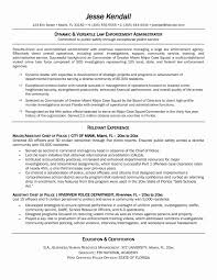 Resume Sample Objectives For Fbi Fresh Police Objective Law Awesome Ideas Ficer Munity Enforcement Obj