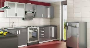 meuble haut cuisine laqué meuble de cuisine aménagée cuisine en image