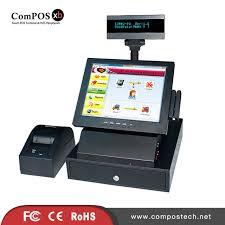 caisse bureau syst m 12 pouce casher système pos avec scanner imprimante caisse