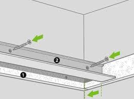 comment réaliser un faux plafond acoustique leroy merlin
