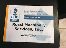 rossi machinery services inc blogs