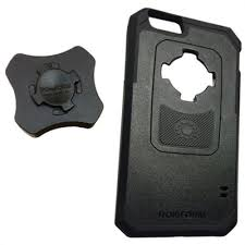 PanaVise BarGrip Mount and Rokform iPhone 6 Case from