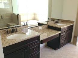 granite bathroom countertopback to amazing majestic white granite