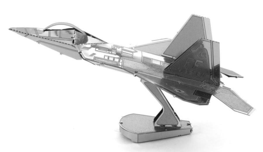 Metal Earth 3D Metal Model Kit - F-22 Raptor